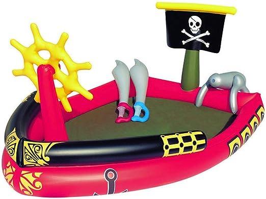 AMWFF – Barco Pirata de Placer para niños, Plegable, bañera ...