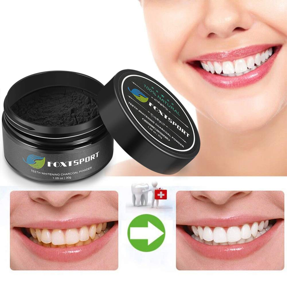 Amazon Com Teeth Whitening Charcoal Powder Natural Activated