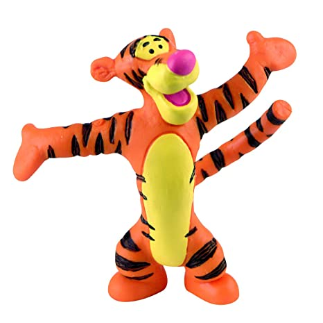 af5a7c4567b Bullyland 12345 - Walt Disney Winnie Pooh - Tigro  Amazon.it  Giochi ...