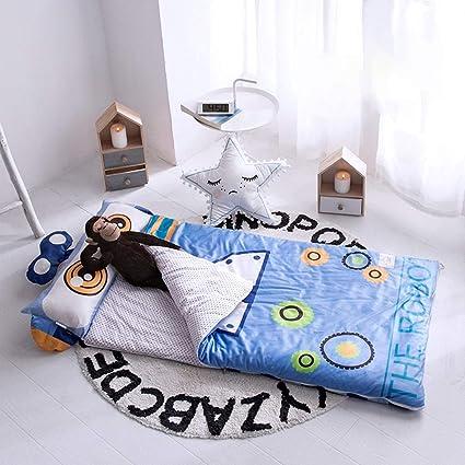 Saco de Dormir para niños Nordic de Dibujos Animados Gruesos con Cremallera Saco de Dormir bebé