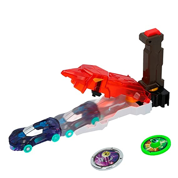 Screechers Wild - Speed Launcher - Lanza coches (Colorbaby 85276)