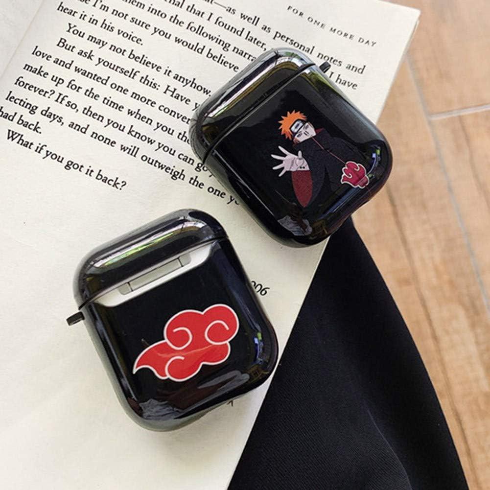 Kunandroc Naruto Shippuden Housse Airpods compatible avec la coque Airpods 1//2 Cute Style 01 housse et skin daccessoires Airpod en silicone 3D