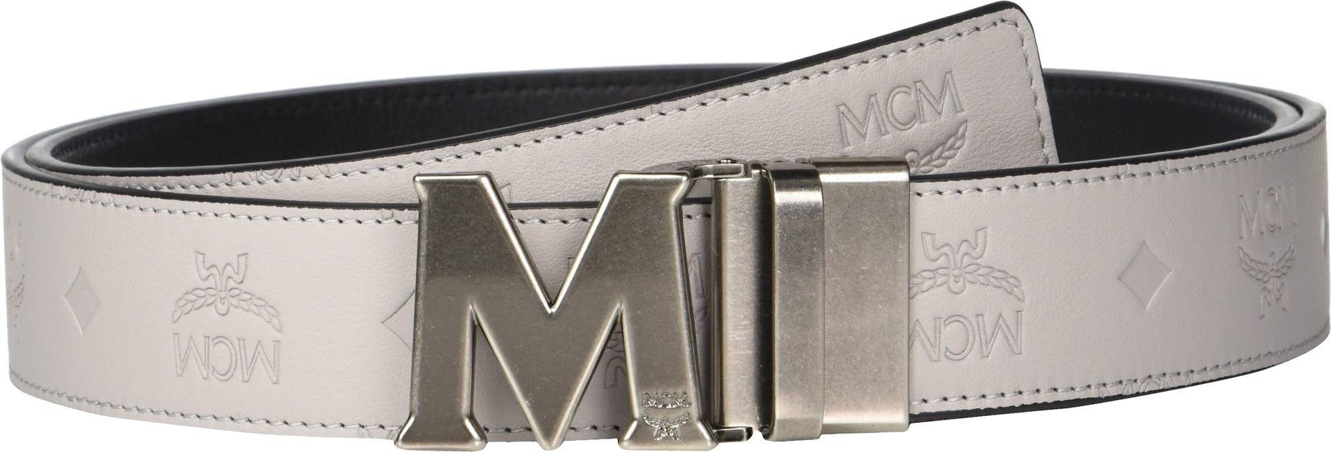 MCM Mens Claus Reversible Belt Dove One Size