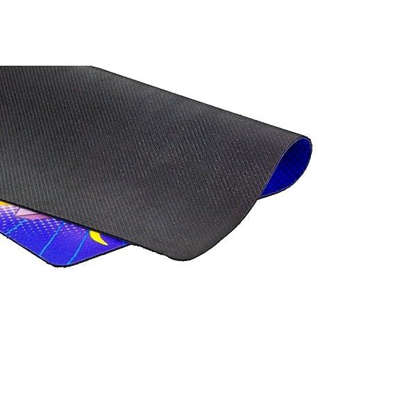 Ozone L3tcraft - OZL3TCRAFT - Alfombrilla Gaming, Color Azul/Amarillo