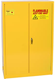 Eagle 1947 Safety Cabinet For Flammable Liquids, 2 Door Manual Close, 45  Gallon,