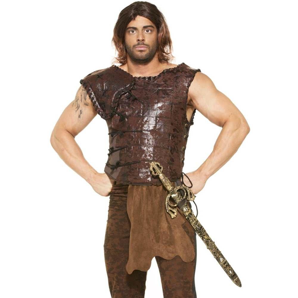 Medieval Fantasy King's Armor Adult Costume One Größe