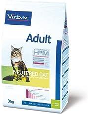 Virbac Vet Hpm Cat Ad Neutered Nourriture 3 kg pour Chien