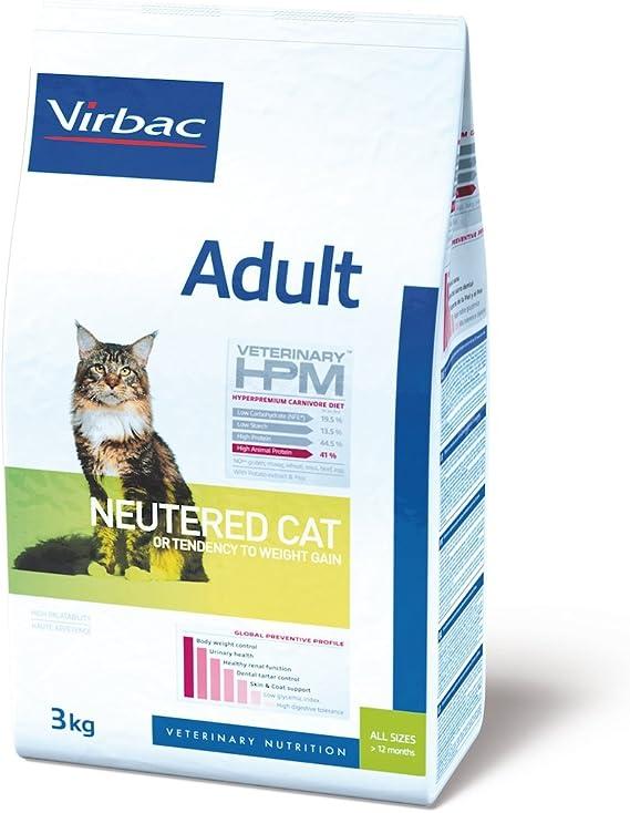 Hpm Virbac Feline Adult Neutered 3Kg 3100 g