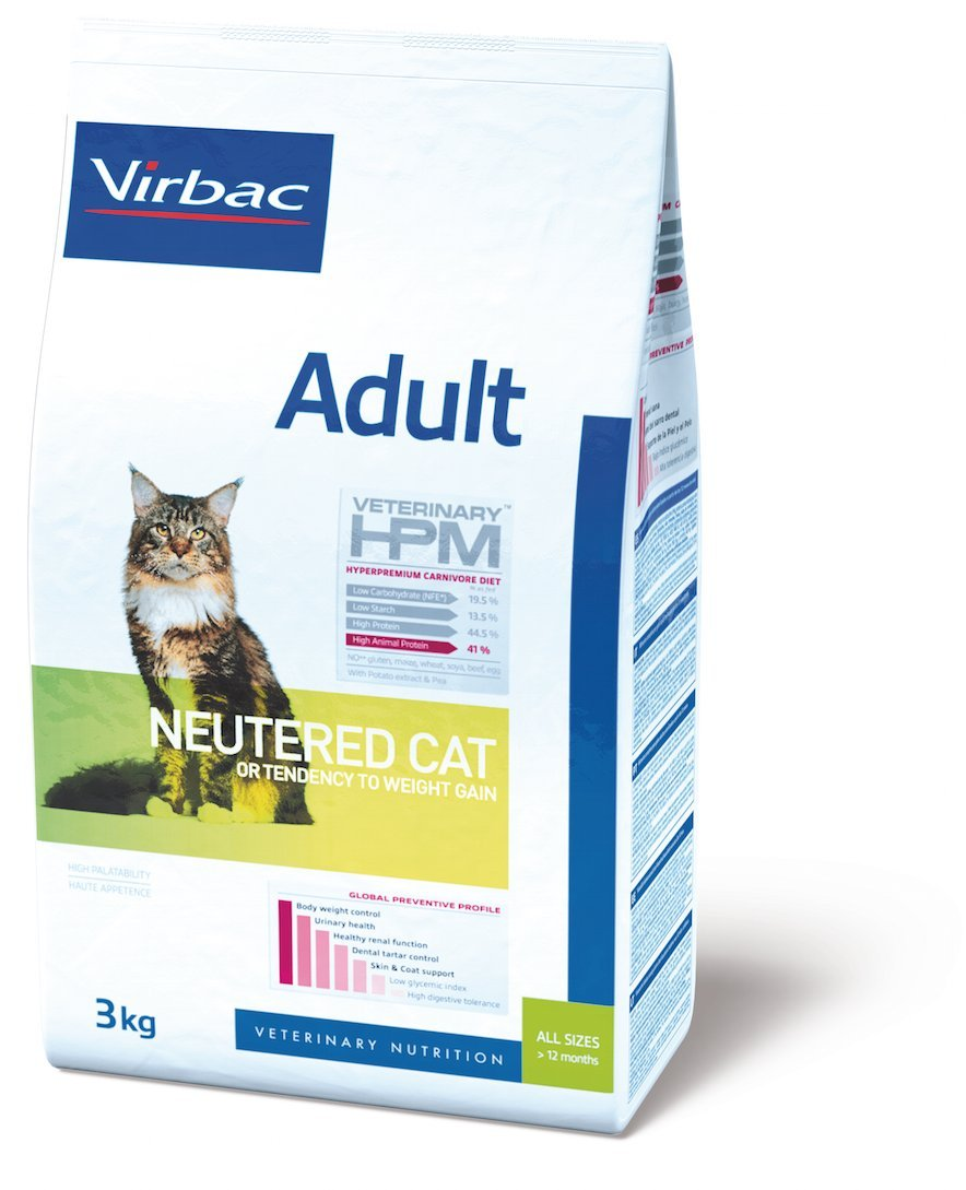 Virbac Veterinary HPM Adult Neutered Cat 12 kg 4909
