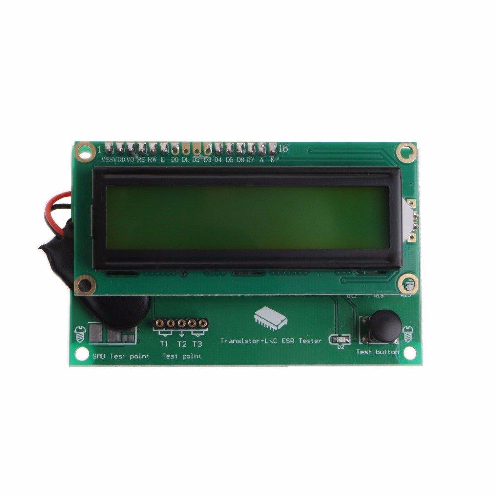 POYING TS-M8N Transistor Tester Diode Triode Capacitance ESR Meter MOSFET NPN/PNP
