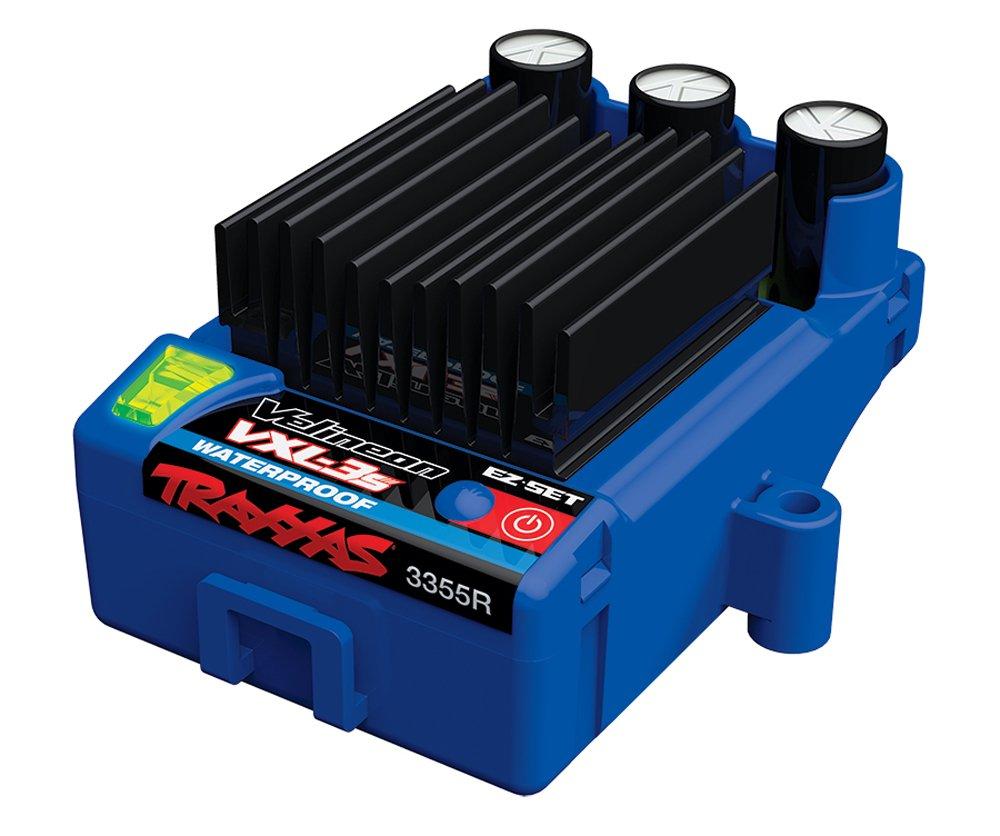 Traxxas 1 10 Stampede 4x4 3500kv Velineon Brushless Vxl Parts Diagram Achterkant 6708 Motor Waterproof 3 Esc Toys Games