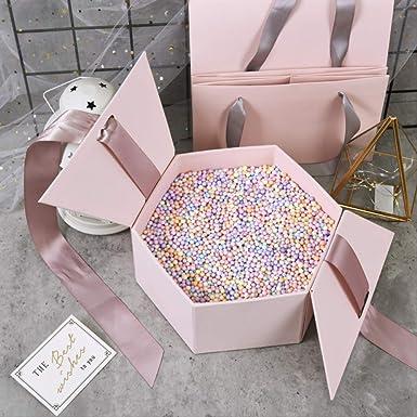 Caja de regalo Bola vacía Exquisito Lápiz labial Embalaje ...