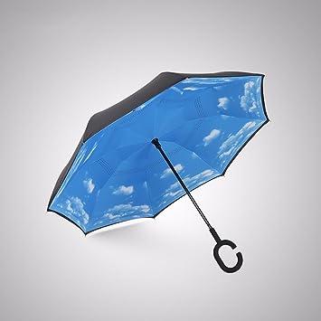 SSBY Reversos paraviento PARAGUAS paraguas paraguas largo ...