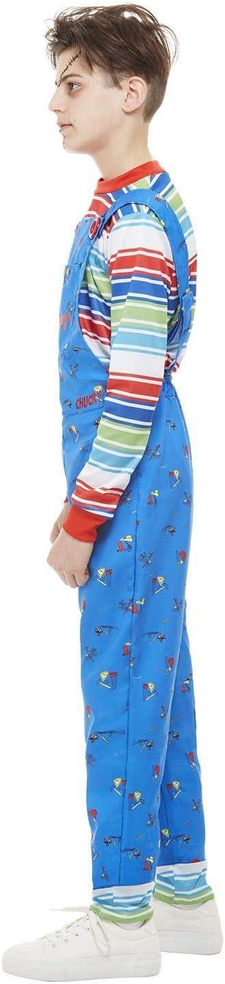 Smiffys 82005L - Disfraz de Chucky con licencia oficial para niños ...