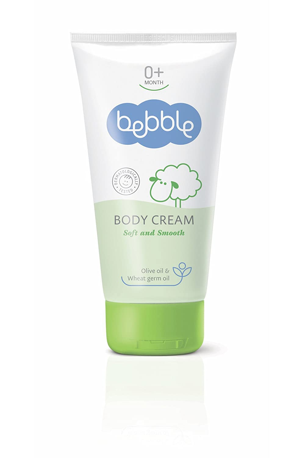 BEBBLE Body Cream with Wheat Germ, Sunflower & Olive oils, German Camomile essential oil and D-panthenol 150 ml LAVENA PLC 10520004