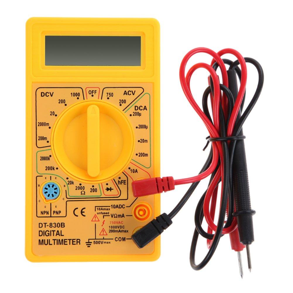 3 1/2 Digits 7 Segment 19 Ranges 0.5' LCD Digital Voltmeter Multimeter Tester Meter Voltmeter Ammeter Multitester AC DC Current LDC05274