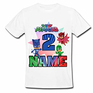 Sprinklecart PJ Masks 2nd Birthday T Shirt