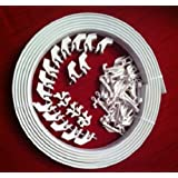 4.5m BENDABLE CURTAIN TRACK FOR STRAIGHT & BAY WINDOW RAIL all Fixings