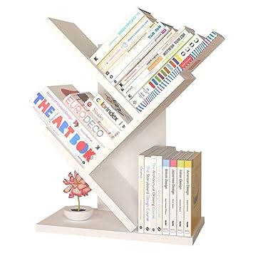 Amazon Com Bookshelf Bookcase Simple Tree Student Shelf