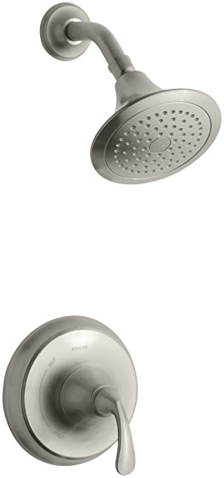 KOHLER K T10276 4 BN Forte Rite Temp Pressure Balancing Shower