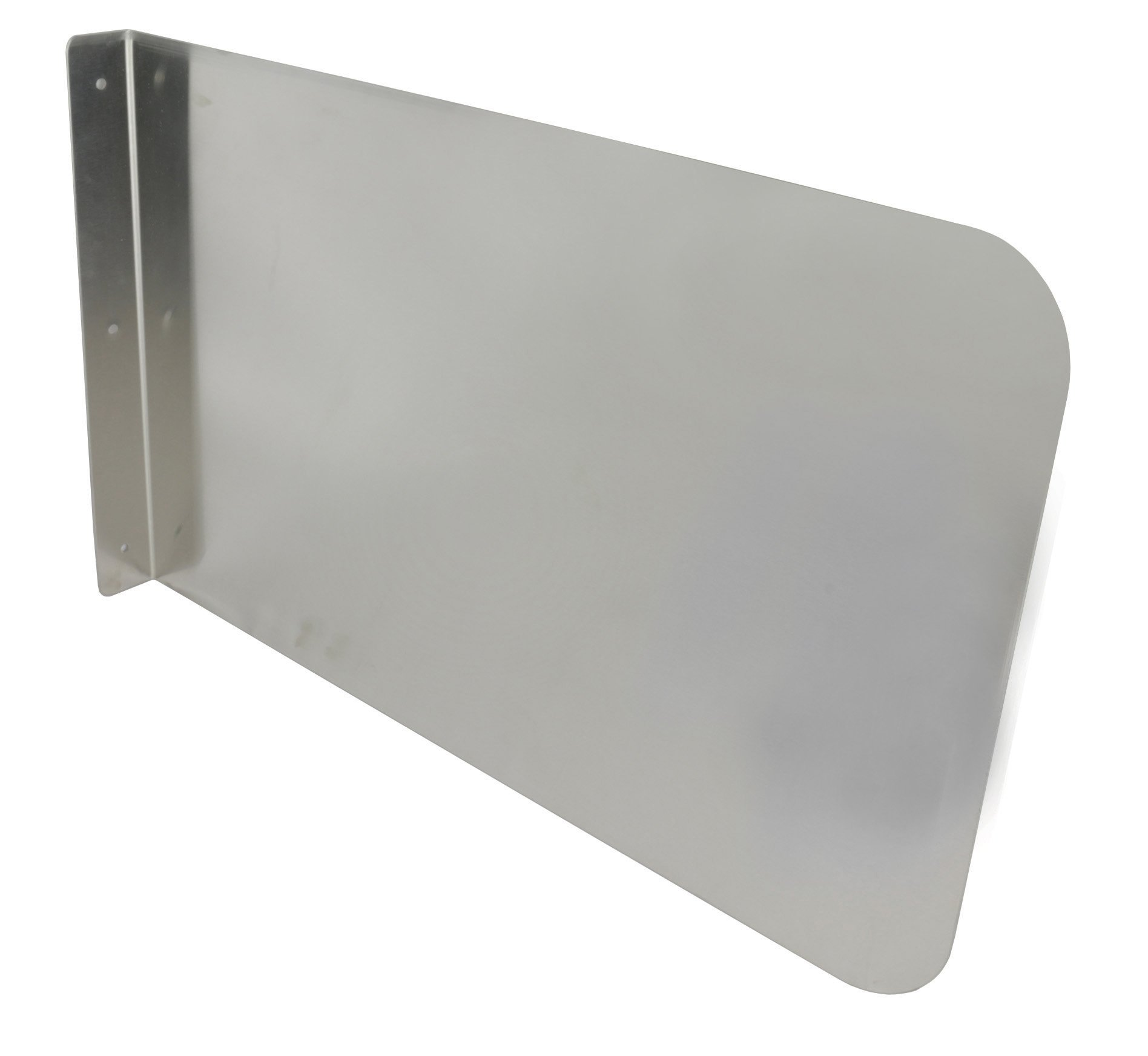 Stainless Steel Wall Mount Splash Guard for Commercial Restaurant Hand Sink and Compartment Prep Sink, NSF Certified (26''W x 20''H)