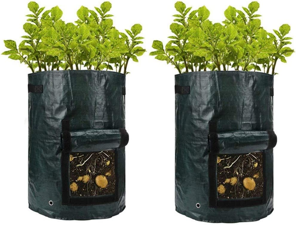 Bolsa de cultivo Bolsas impermeables de plantación de patatas ...