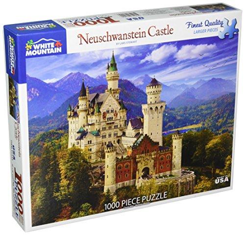 White Mountain Puzzles Neuschwanstein Castle - 1000 Piece Jigsaw -