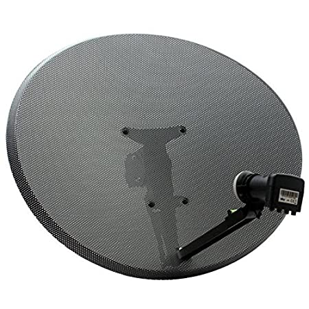 zone 2 freesat or sky raven 60cm satellite dish with amazon co uk
