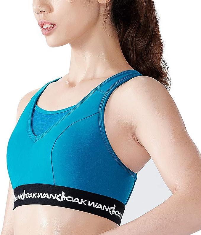 WANDOAK Sports Bras for Women - Yoga Bras for Women Crossback