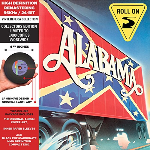 ALABAMA - Roll On - Cardboard Sleeve - High-Definition Cd Deluxe Vinyl Replica - Zortam Music