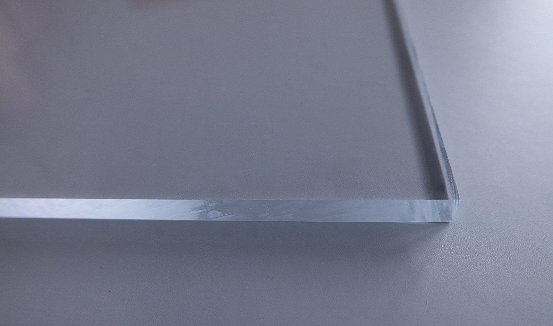 4 mm stark Gr/ö/ße:90x70 cm glasklar Cuadros Lifestyle Acrylglas transparent im Zuschnitt PMMA beidseitig foliert UV best/ändig