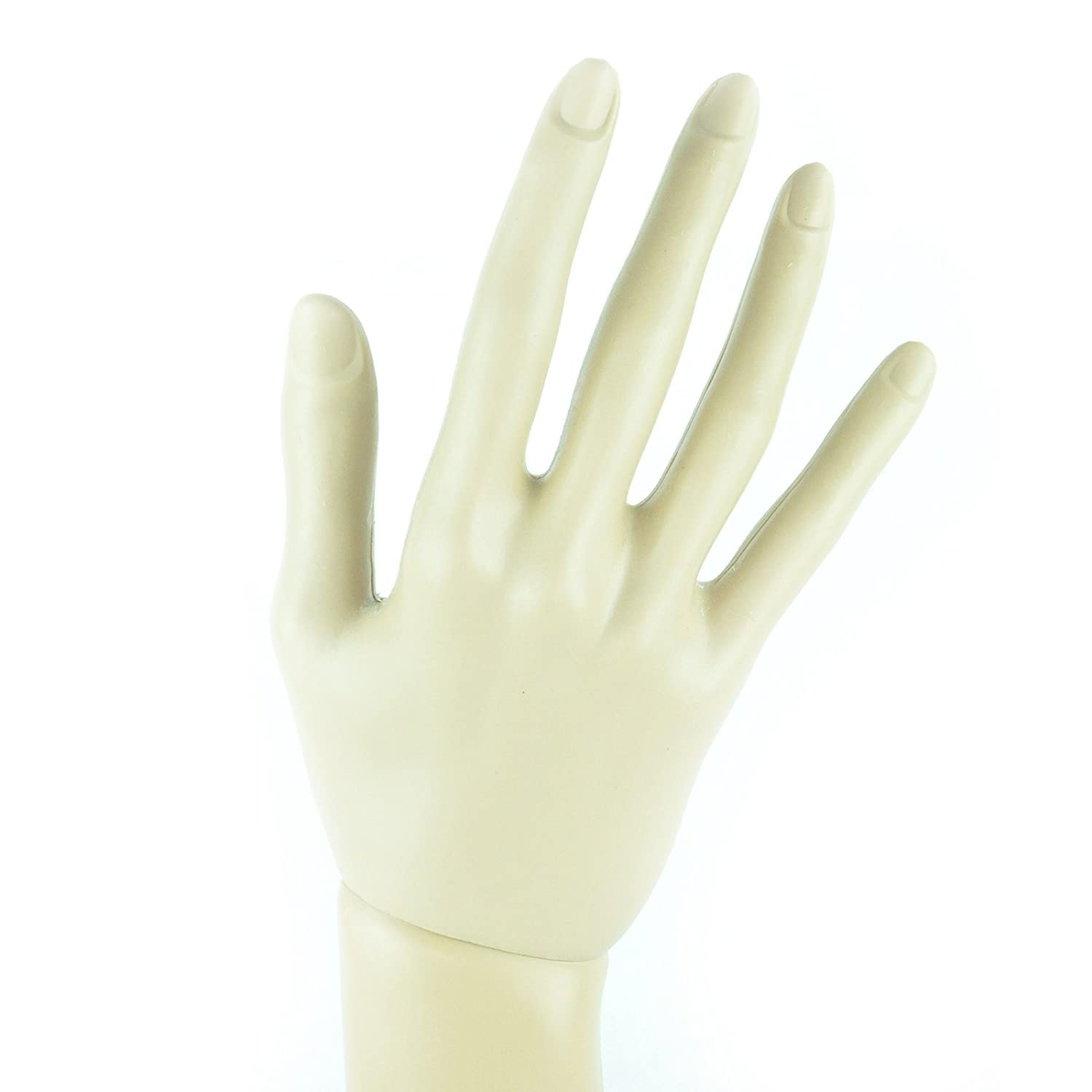 14 Inch Mannequin Hand for Nail Practice Jewelry Glove Display ...