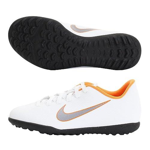 Nike Mercurial Vapor X 12 Club TF Jr Ah7355 1, Botas de fútbol Unisex Niños: Amazon.es: Zapatos y complementos