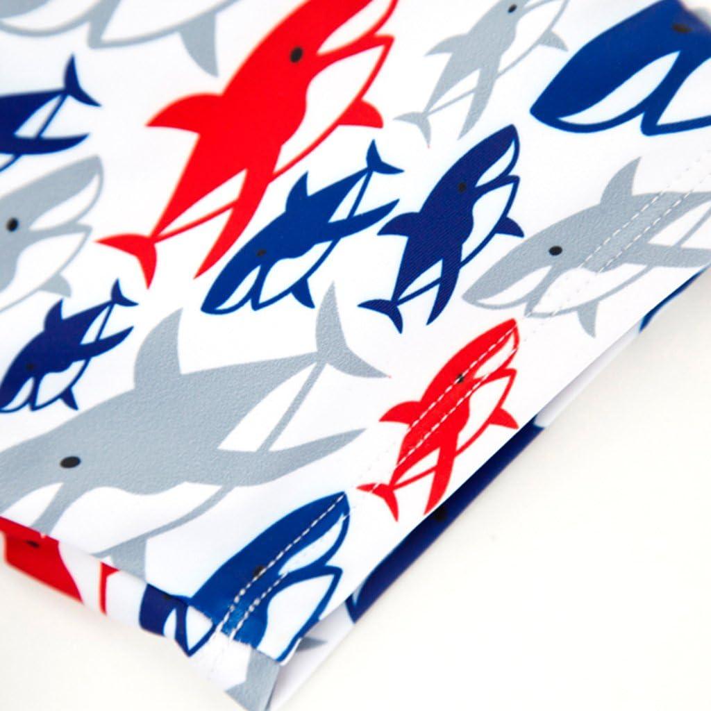 Gogokids Costume da Bagno per Bambini Nuoto Abbigliamento Maniche Corte T-Shirt da Bagno e Pantaloncini 1-6 Anni
