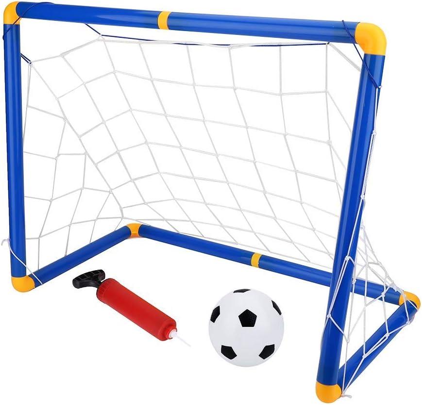 porterías infantiles o porterías de fútbol para niños para la práctica deportiva en el jardín