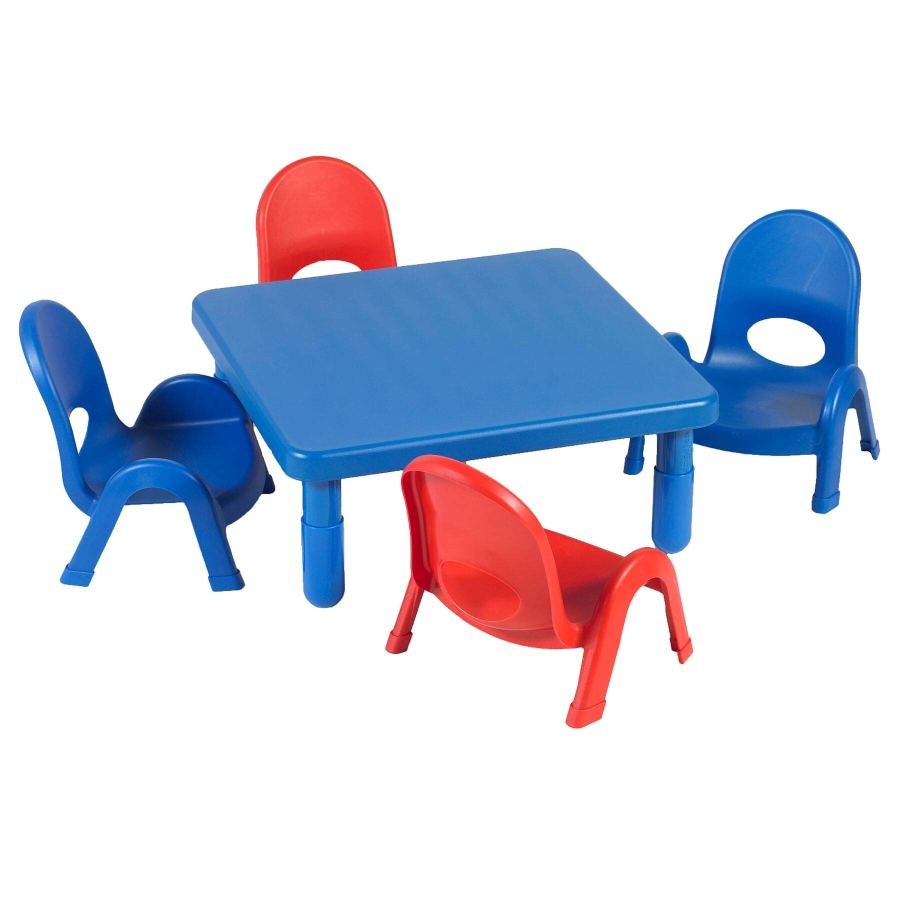 Angeles 5-Pc MyValue Square Toddler Table and Chair Set by Angeles