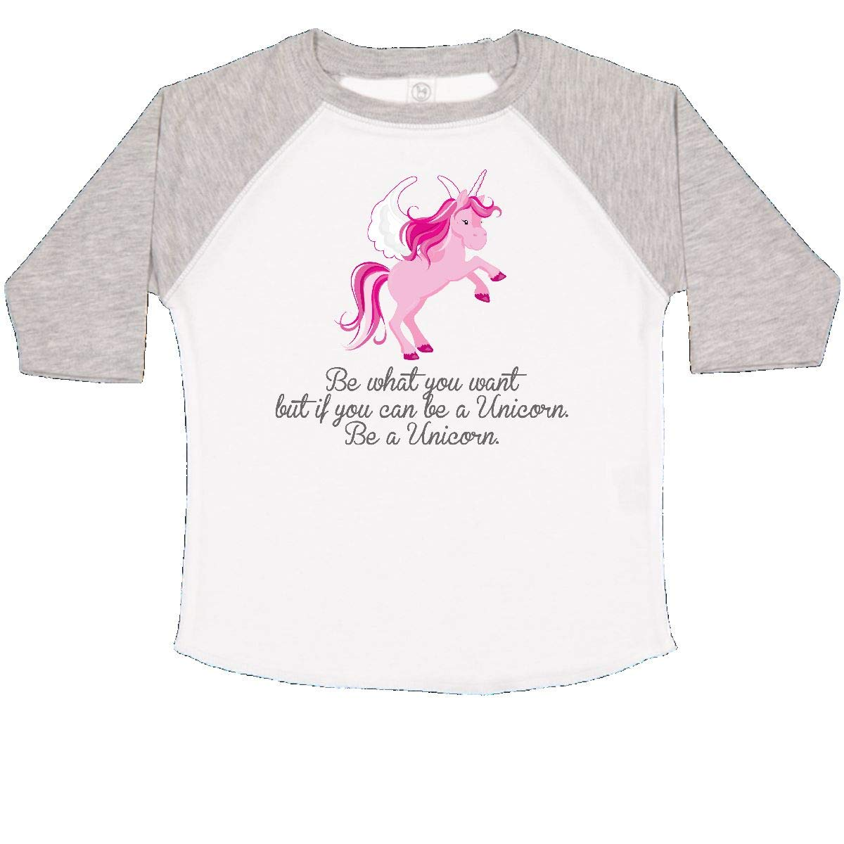 inktastic Be a Unicorn Toddler T-Shirt