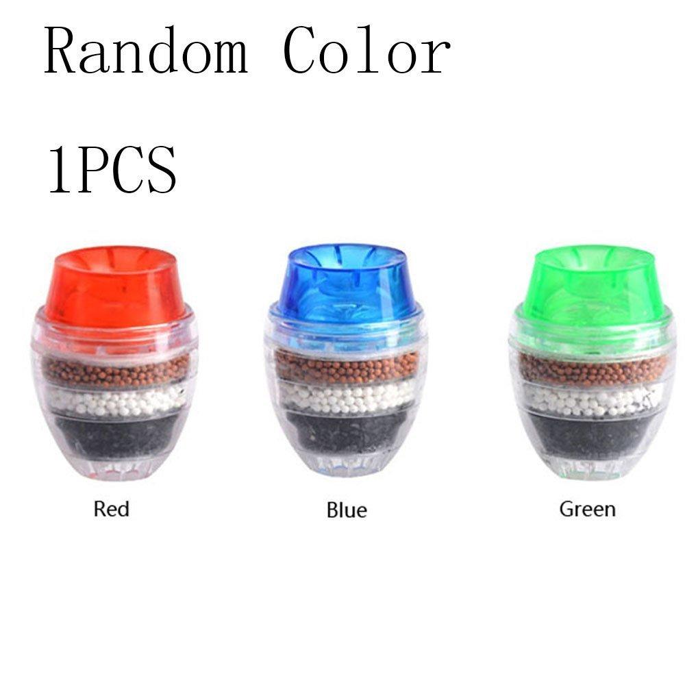 Kitchen Water Purifier,ASDOMO Coconut Carbon Water Filter Faucet Tap Purifier Home Random Color 1PCS