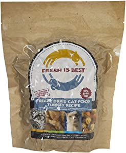 Fresh Is Best Freeze Dried Raw Complete Cat Food, 8 Ounces
