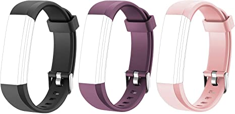 ID115U ID115U HR Replacement Bands Adjustable Replacement Straps Fitness Tracke