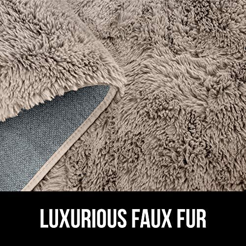 61o2ZtnjNiL. AC - GORILLA GRIP Original Premium Fluffy Area Rug, 7.5x10 Feet, Super Soft High Pile Shag Carpet, Washer And Dryer Safe, Modern Rugs For Floor, Luxury Carpets For Home, Nursery, Bed And Living Room, Beige