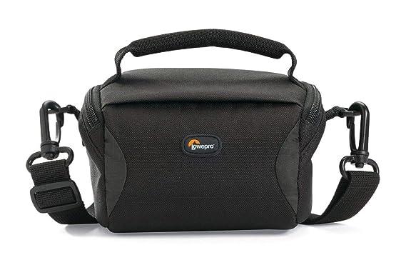LOWEPRO Format 100 multi device shoulder bag   Black Camera Backpacks