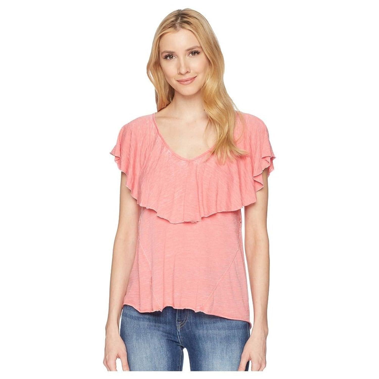 (ラッキーブランド) Lucky Brand レディース トップス Tシャツ Burnout Ruffle Tee [並行輸入品] B07F6FDV7Q