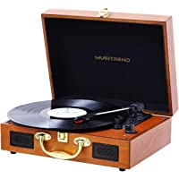 Musitrend Turntable Portable Record Player Suitcase