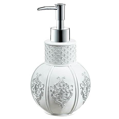 Amazoncom Creative Scents Vintage White Hand Soap Dispenser - Decorative bathroom soap dispensers for small bathroom ideas