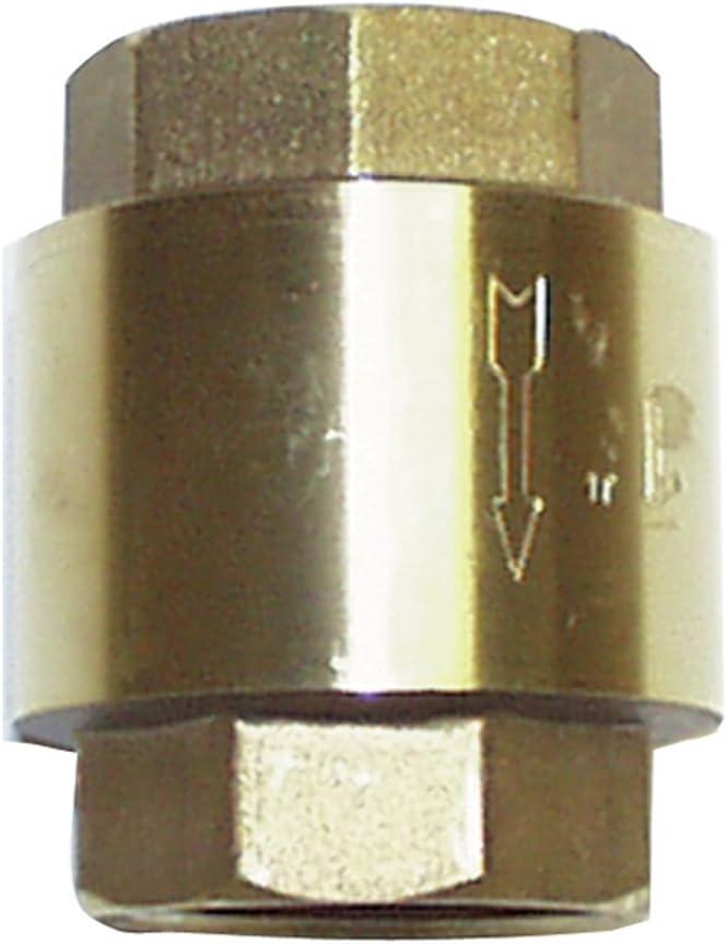 Sirocco 07722144 - Válvula de retención de 1 pulgada