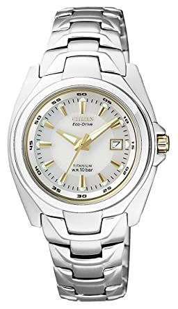 WATCH CITIZEN ECO-DRIVE EW0911-50A TITANIUM WOMAN