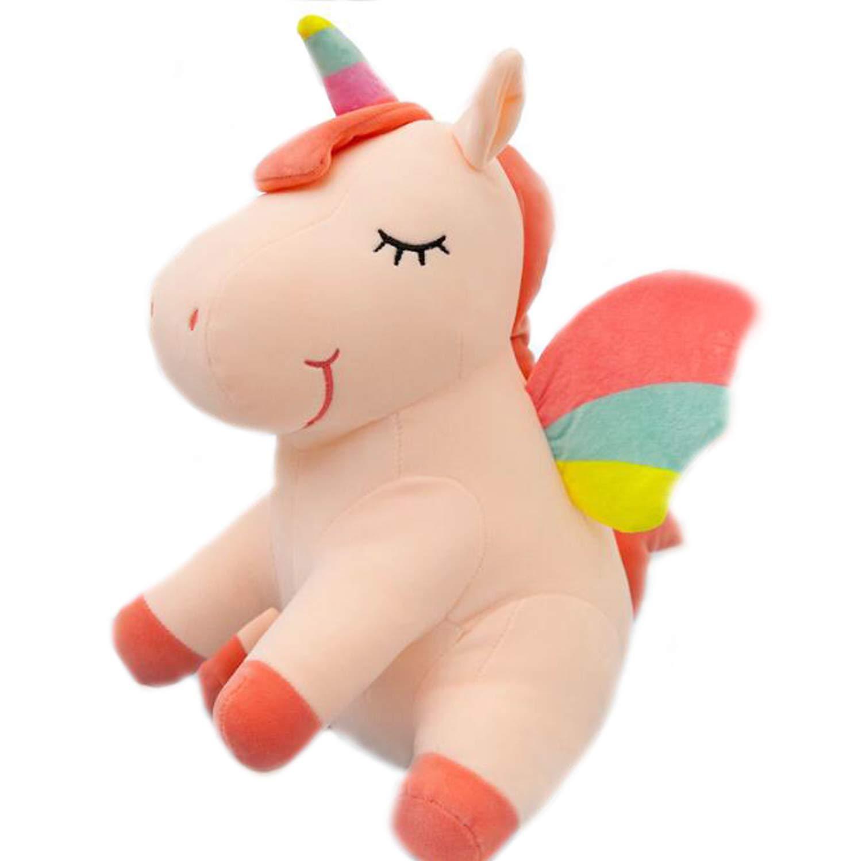 Amazon Com Smilesky Unicorn Stuffed Animal With Wings Super Soft