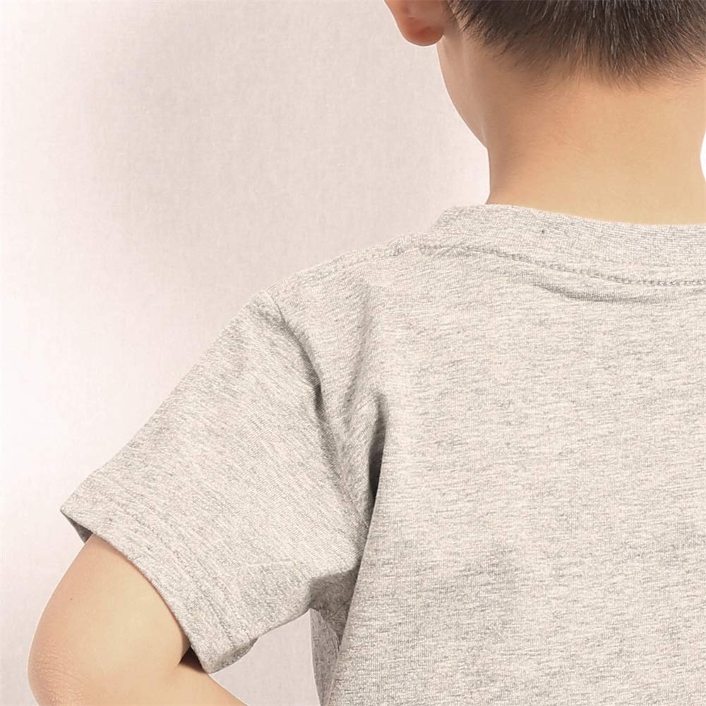 usYnCV All Cotton Blowing Horn T Shirts Fashion for Boys Shirt