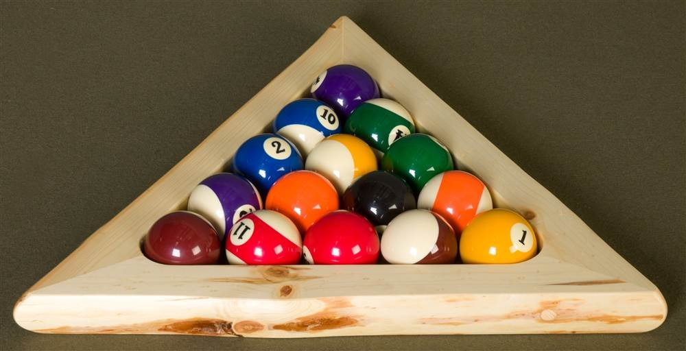 8-Ball Triangle by Viking Log Furniture
